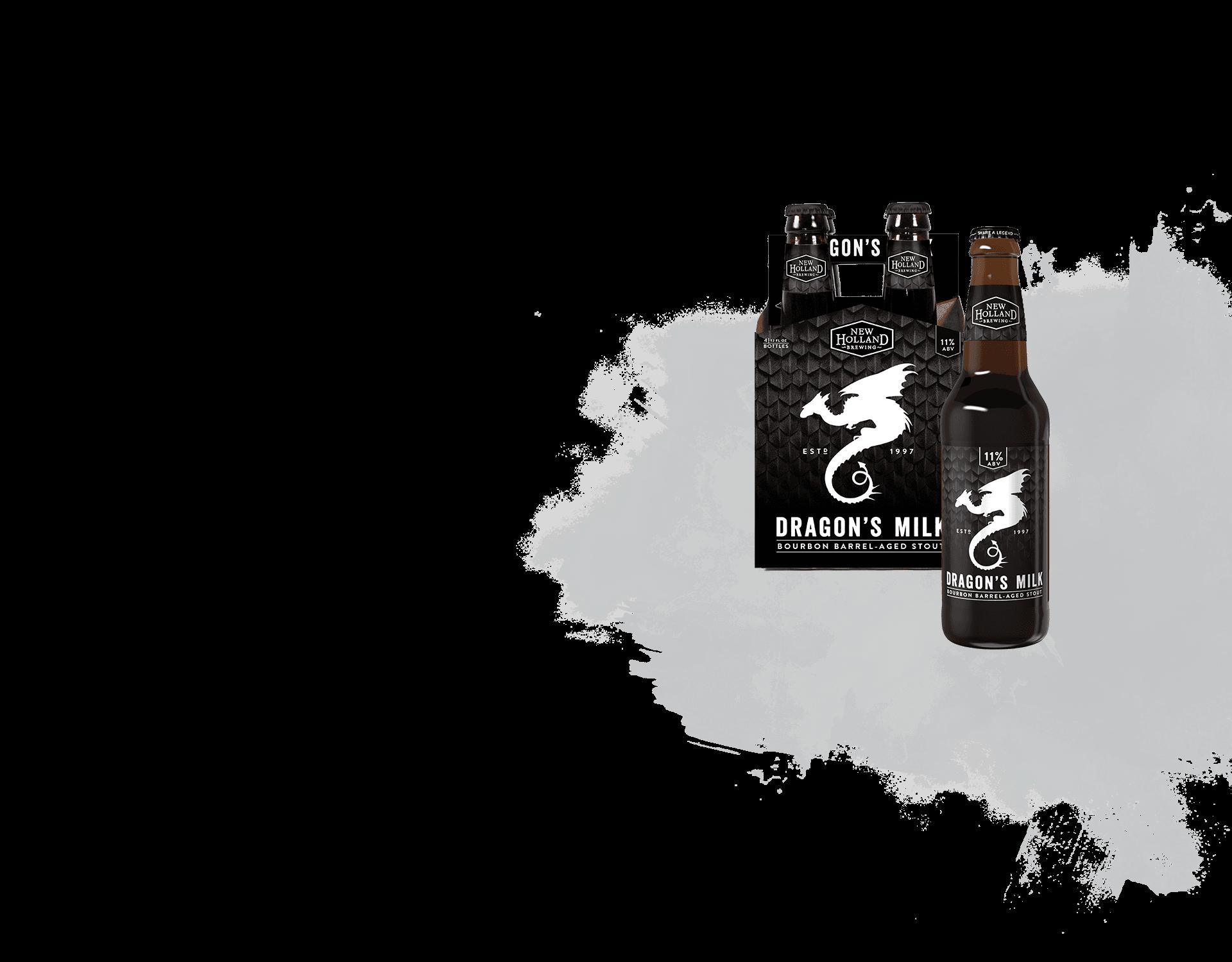 Dragon's Milk 4 Pack Bottles