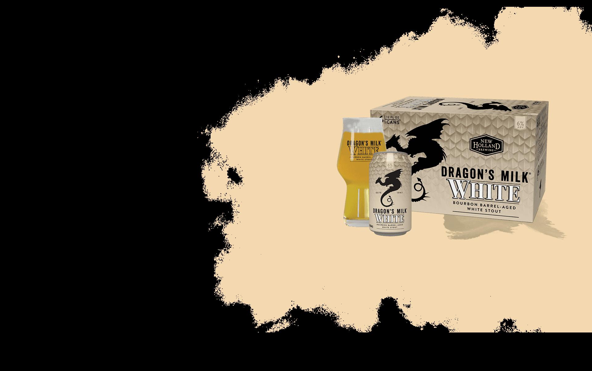 Dragon's Milk White Header